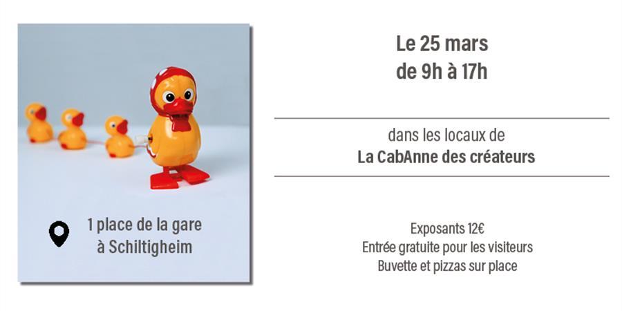 Bourse aux jouets - Les créateurs de la CabAnne