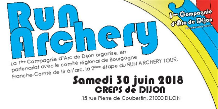 Run Archery Tour 2018 - 2ème étape Dijon - Run Archery Club Sucy en brie