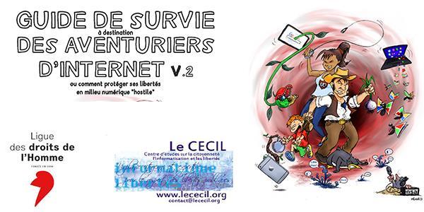 Guide de survie des aventuriers d'Internet v2 - avec fiche ordiphone - CECIL