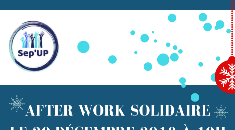 After work solidaire  - Sep'UP