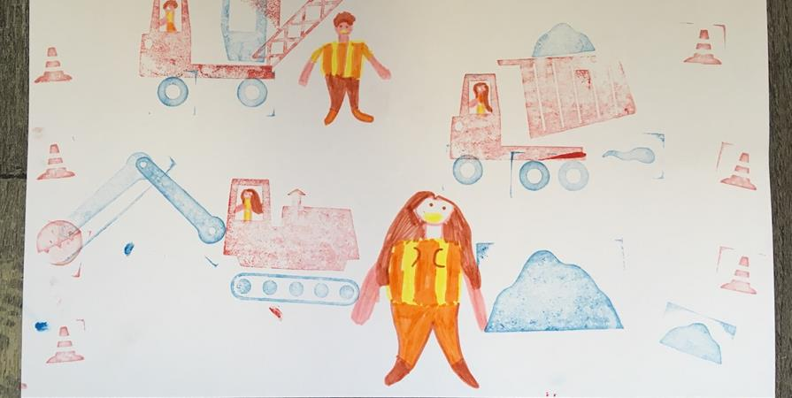 Sam 9/11 : Atelier 3-8 ans : fabrique ton engin de chantier ! - Chic, de l'Archi !