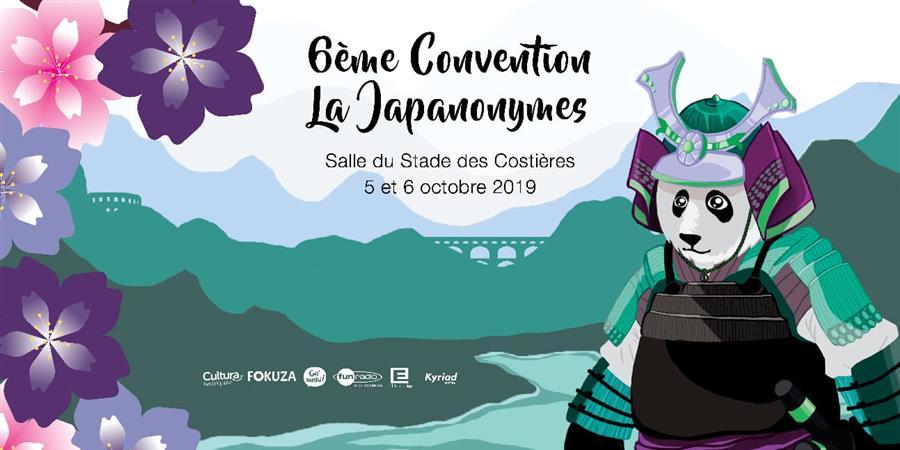 6ème Convention La Japanonymes - La Japanonymes