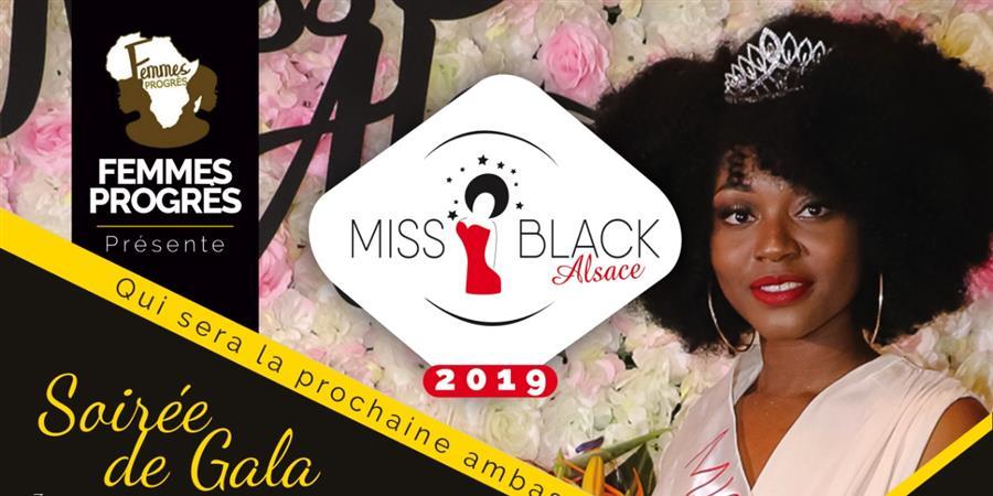 Election Miss Black Alsace 2019 - Association Femmes Progrès
