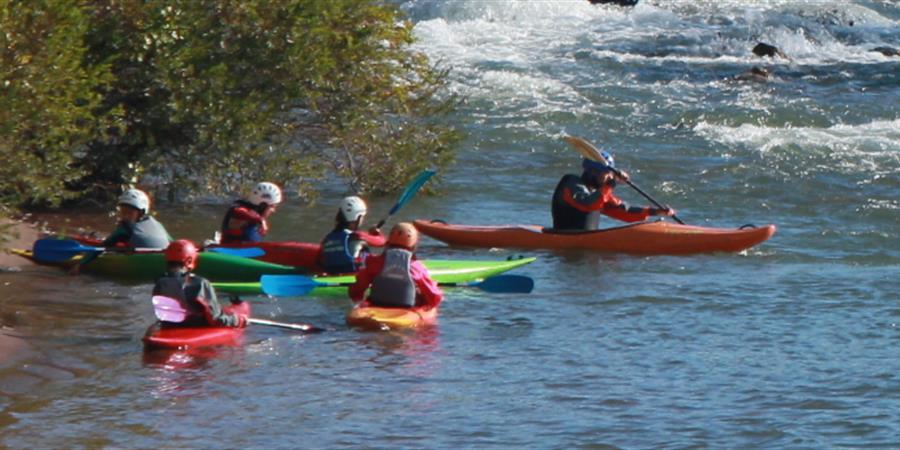 Stage paddle, canoë et kayak sur L'Hérault (8 - 16 ans) - Gignac Canoë Kayak
