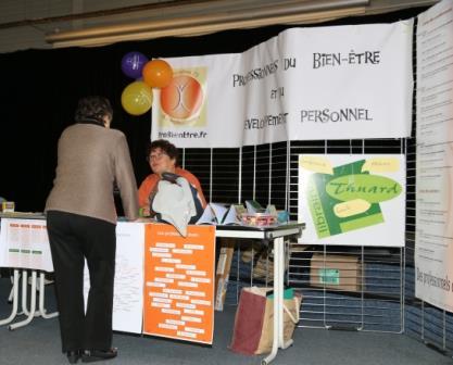 Salon annuel ProBienEtre - Association 72 des professionnels du bien être et du développement personnel
