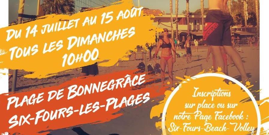 Tournoi Beach-Volley - 3X3 - Six Fours Beach Volley - Six Fours Beach Volley
