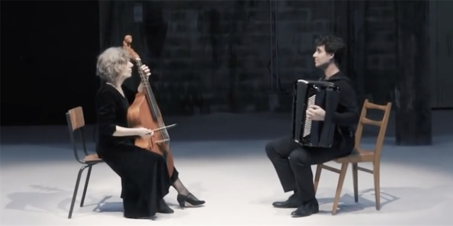 Concert - Les InAttendus : Vincent LHERMET, accordéon & Marianne MÜLLER, viole - Association Les Théophanies