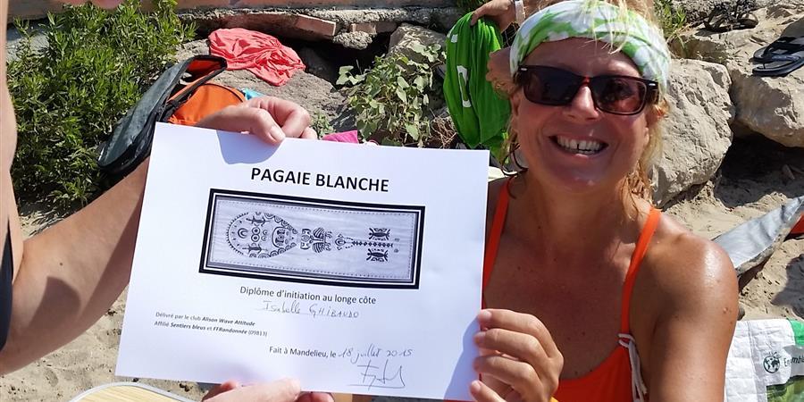 Initiation Marche aquatique - ALISON WAVE ATTITUDE - CLUB DE LONGE CÔTE