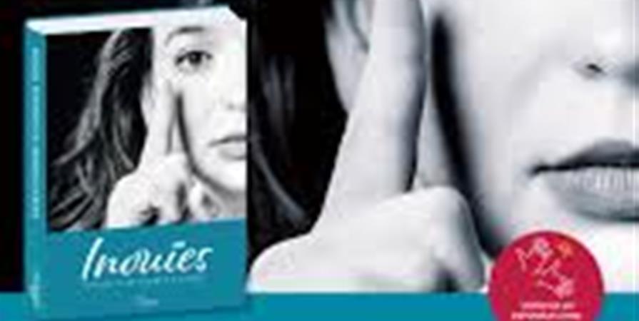 """Livre """" inouie, Portraits de femmes"""" - Langue des Signes du Nord-Pas-de-Calais"""