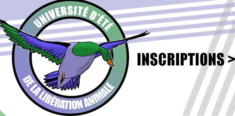 Université d'Été de la Libération Animale - Inscription - Sentience Paris