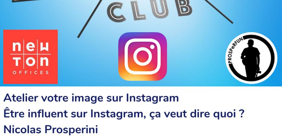 Atelier Instagram 16 Janvier 2020 - Marseille Marketing Digital Club