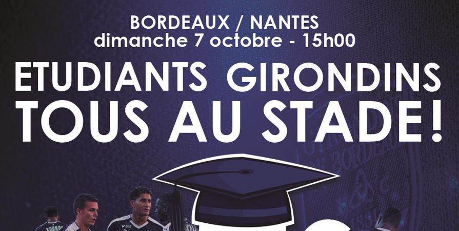 Bordeaux - Nantes / Stade Matmut Atlantique de Bordeaux - BDE EFAP, ICART, EFJ