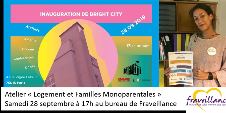 Atelier Logement et Familles Monoparentales - FRAVEILLANCE Fonds de dotation