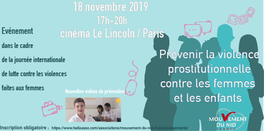 Prévenir la violence prostitutionnelle contre les femmes et les enfants - Mouvement du Nid - France
