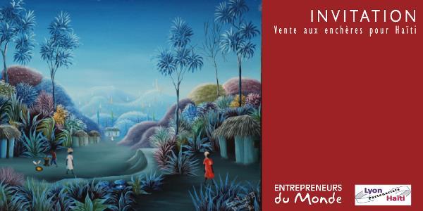 Vente aux enchères d'objets d'art haïtien - Entrepreneurs du monde