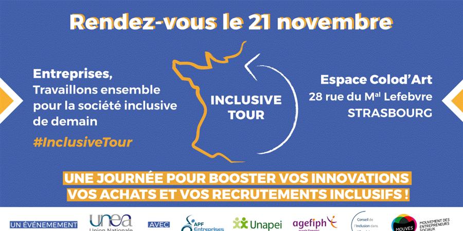 Inclusive Tour à Strasbourg - Union Nationale des Entreprises Adaptées