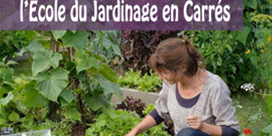 """Carte Cadeau """"École du Jardinage en Carrés - Centre d'agro-écologie"""" - École du Jardinage en Carrés - Centre d'agro-écologie"""