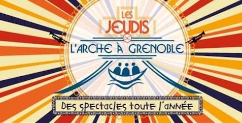 Les jeudis de l'Arche -  Jeudi 28 Mars - Théâtre d'improvisation avec Latiag  - ARCHE DE JEAN VANIER A GRENOBLE
