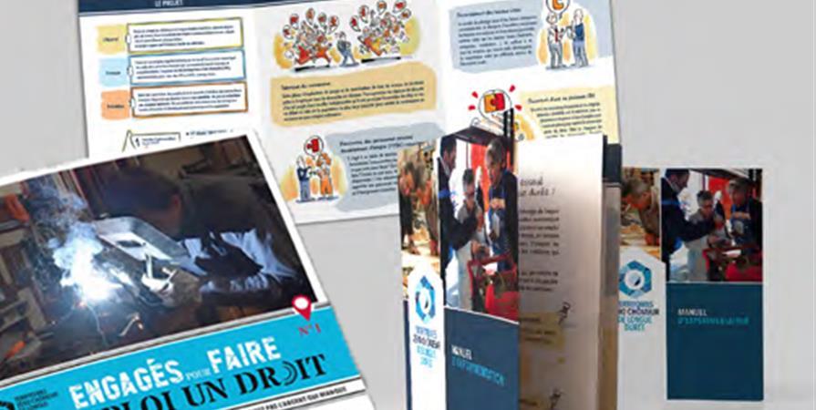 Achat en ligne de documents présentant le projet  - TERRITOIRES ZÉRO CHÔMEUR DE LONGUE DUREE
