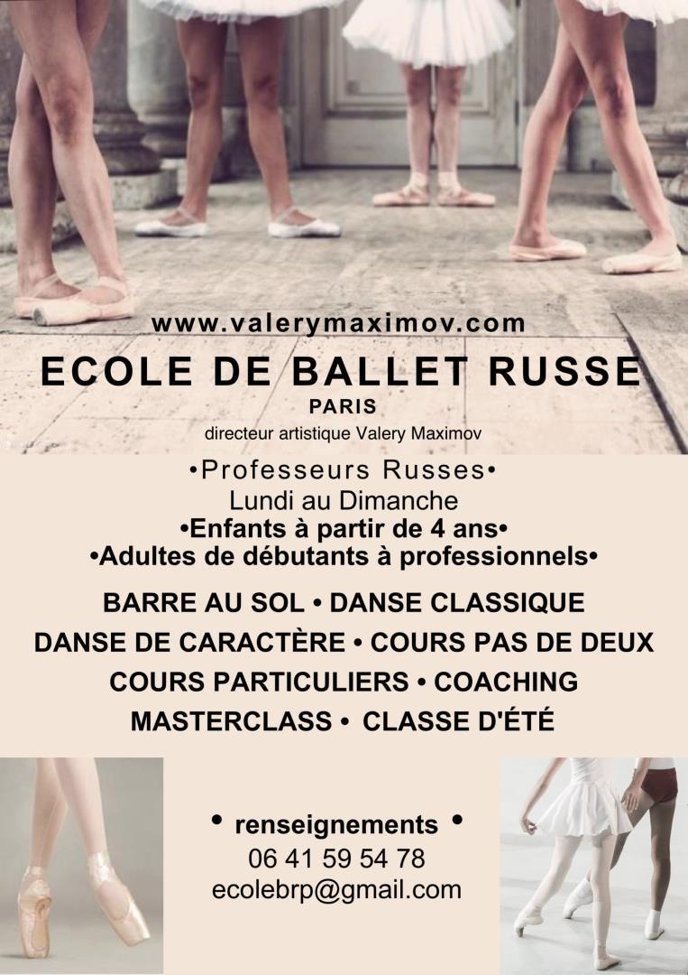 Danse Classique -Tous Niveaux, Debutant - Valery Maximov