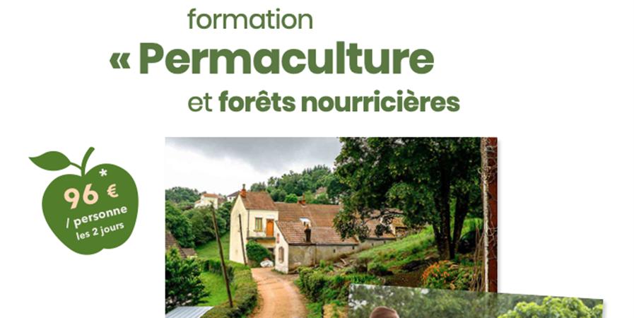 """Formation """"Permaculture et forêts nourricières"""" - ECO-Conseil"""