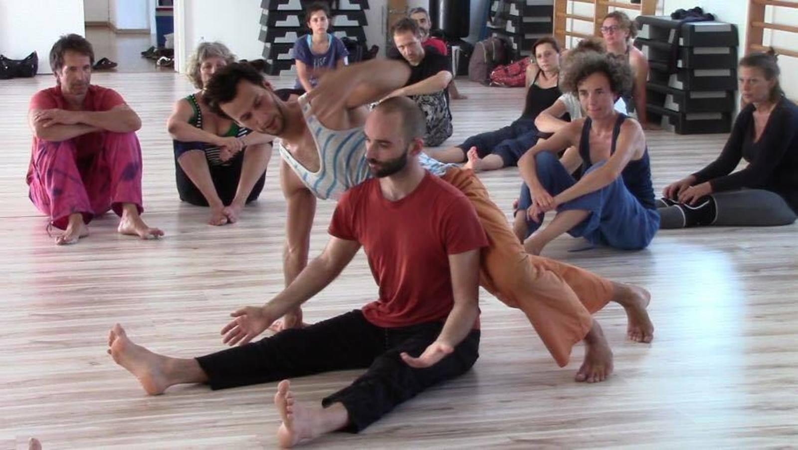 Danse Contact Release – Stage avec Riccardo Meneghini - Studio Littledancer