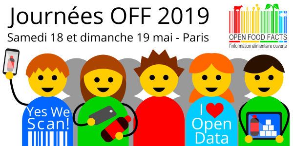 Journées OFF 2019 - Association Open Food Facts - Open Food Facts