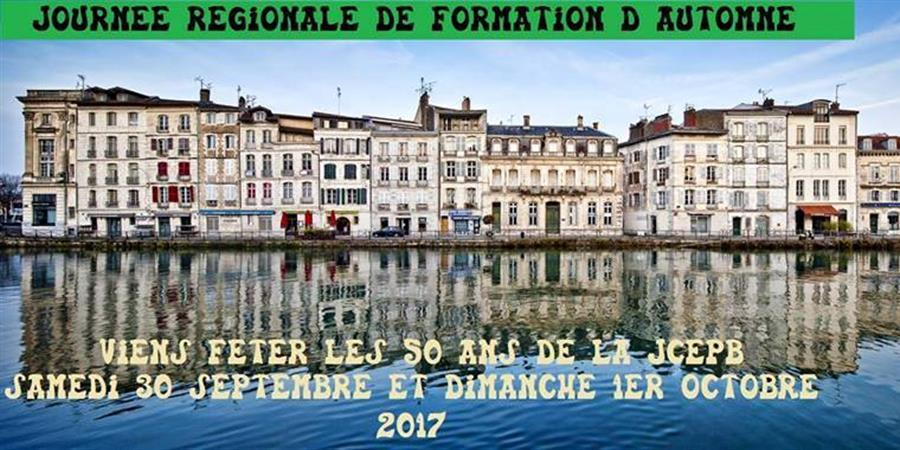JRF d'automne 50 ans de la JCEPB - JCE Pays Basque