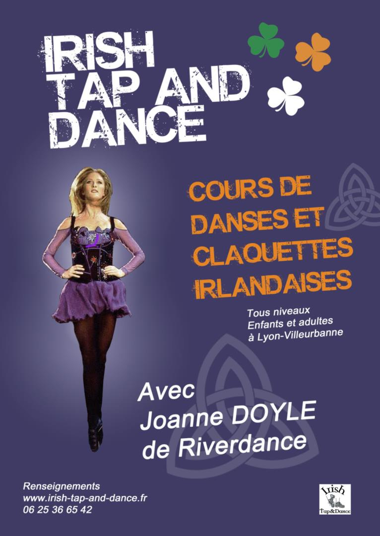 Danses et claquettes irlandaises - Irish Tap and Dance