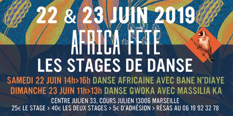 Les stages de danse d'Africa Fête - Mamanthé