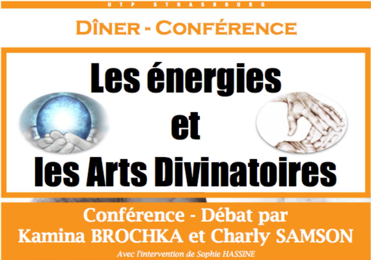Conférence les énergies et les arts divinatoires - Université du Temps Présent de Strasbourg