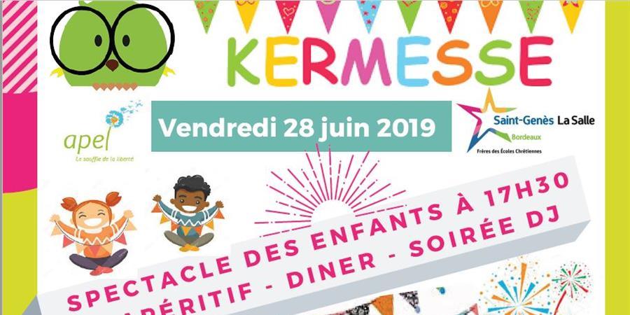 KERMESSE  - APEL Saint Genes La Salle Bordeaux