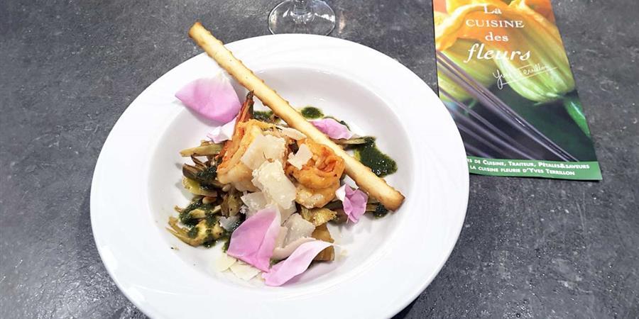 La Cuisine des fleurs Atelier cuisine - Vert Azur