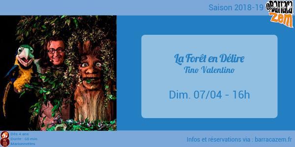 Dimanche - La Forêt en délire - Tino Valentino - Brasil Afro Funk