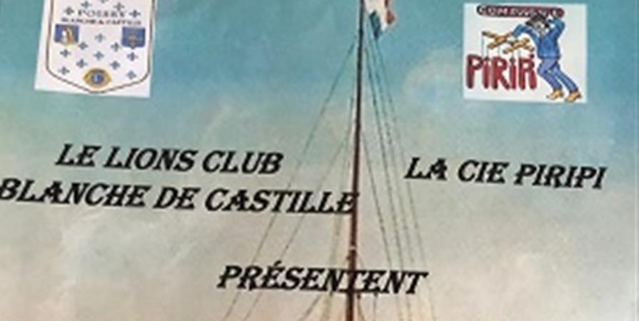 Théâtre Blanche de Castille à Poissy: La croisière abuse   - Lions club Poissy Blanche de Castille