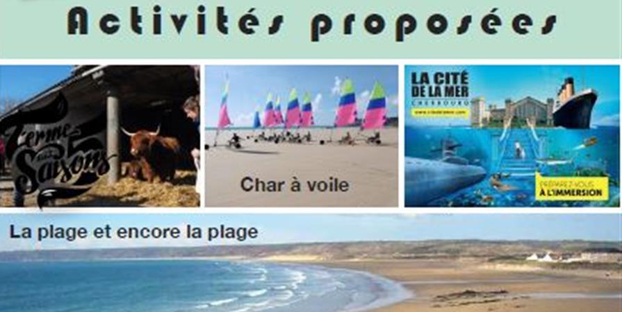 Séjour Familles Siou Cotentin du 29 juillet au 4 août 2019 - Association Française des Dysplasies Ectodermiques