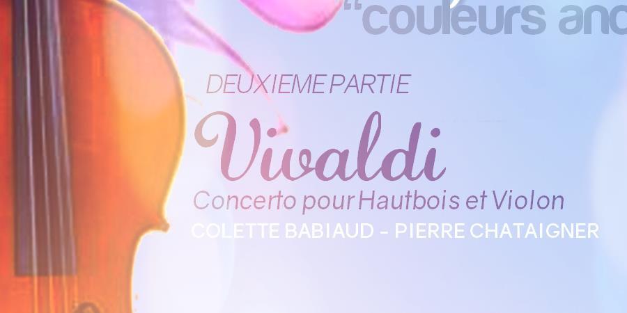"""Concert LA JARRIE-AUDOUIN """"Couleurs anciennes"""" * M.Poulbot, A.Vivaldi, JS.Bach - Orchestre Symphonique des Vals de Saintonge"""