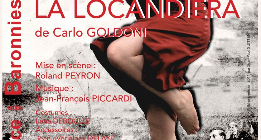 La locandiera de Carlo GOLDONI - Mise en scène de Roland PEYRON - TELB - Théâtre Ecole de la Lance et des Baronnies