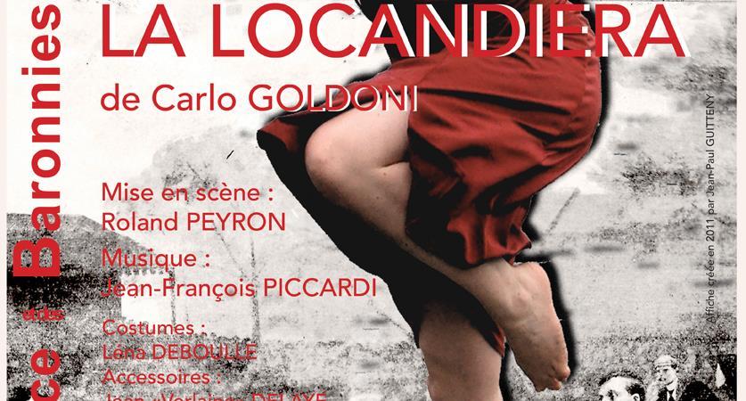 """""""La locandiera"""" de Carlo GOLDONI - Mise en scène de Roland PEYRON - TELB - Théâtre Ecole de la Lance et des Baronnies"""