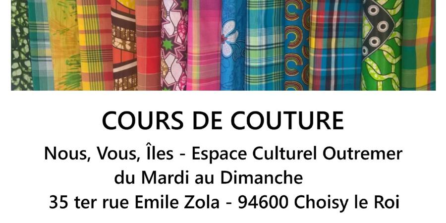 COURS DE COUTURE BY MAMIMY HAND MADE - OUTREMER RACINES