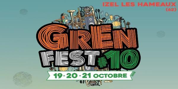 GrEn Fest #10 - 19.20.21 octobre 2018 - Les Z'Amizels