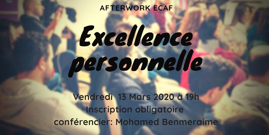 After work EXCELLENCE PERSONNELLE - Etudiants et Cadres Algériens de France