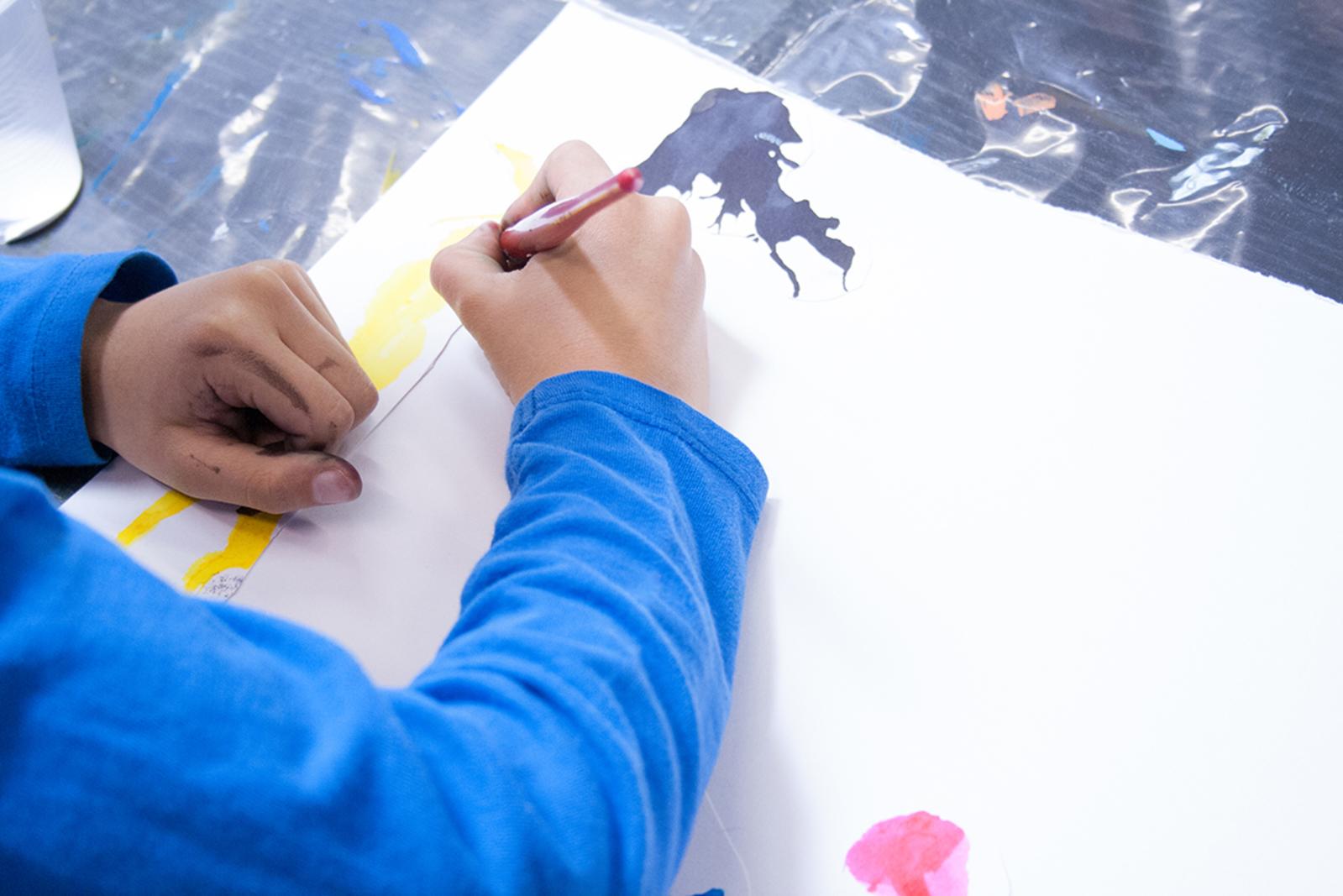 Atelier des 6-10 ans - Tracés Libres