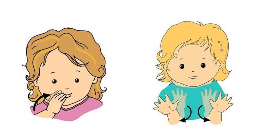 Langue des signes bébé - BUZYBUL