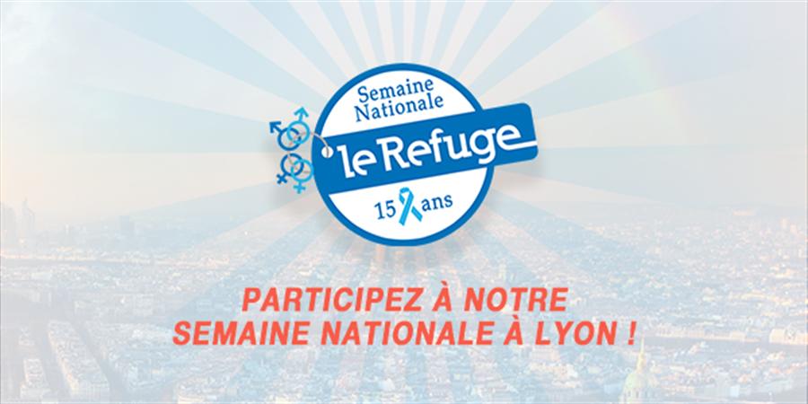 LYON - Événements Semaine Nationale 2018 - Le Refuge