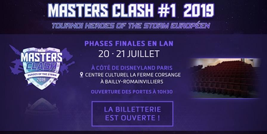 Masters Clash Finals - Heroes of the Storm - Masters Clash Esport