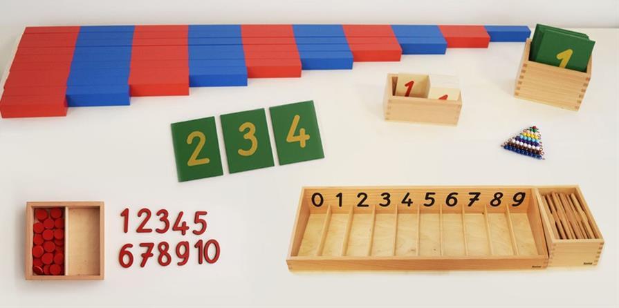 Ateliers Montessori pour les 3 - 6 ans et plus  - Mikado
