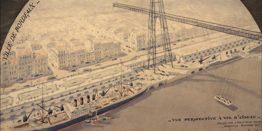 Conférence // Cyprien-Alfred Duprat : Bordeaux en projet durant les années 1920 - Tout Art Faire