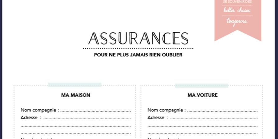 Kit Classeur maison - Rangez, Organisez, Simplifiez