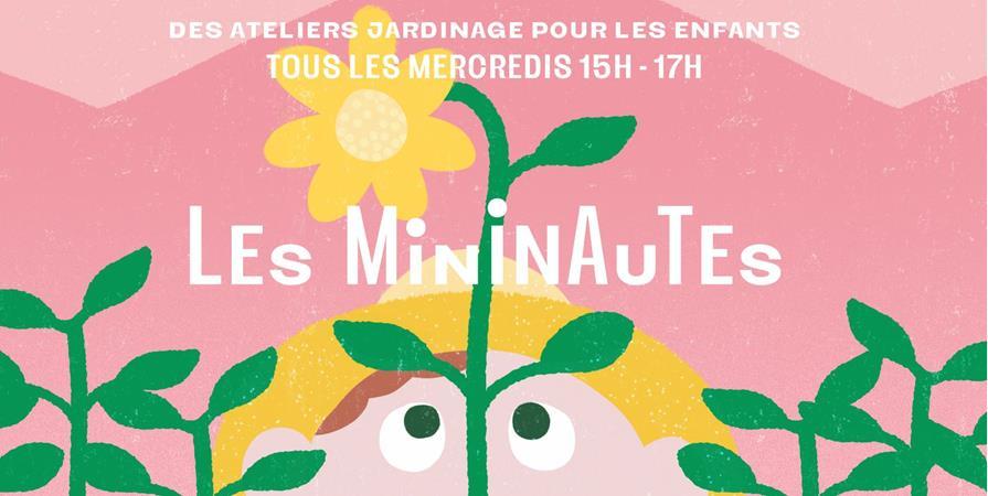 Mininautes - cours de jardinage pour enfants de 8 à 12 ans - La Société d'Agriculture Urbaine Généreuse et Engagée